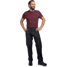 Tatonka Travel Zip Off Pants Men, dark black